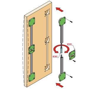 deurspanner en deurrechter
