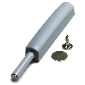 Druksnapper met magneet GRIJS