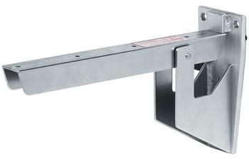 Hebgo inklapbare plankdrager voor zitbank 380 mm, zonder veer, 500 kg